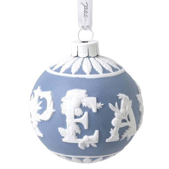 Wedgwood Porcelain Peace Bauble