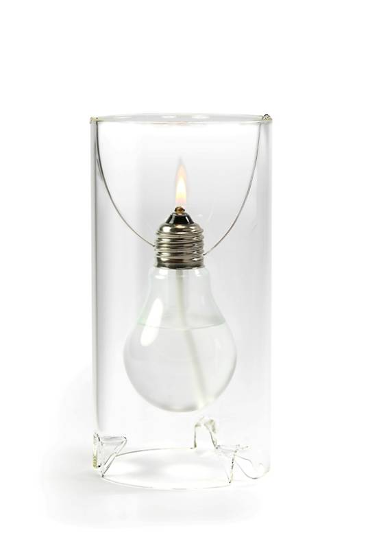 OD Edison Oil Lamp, Small