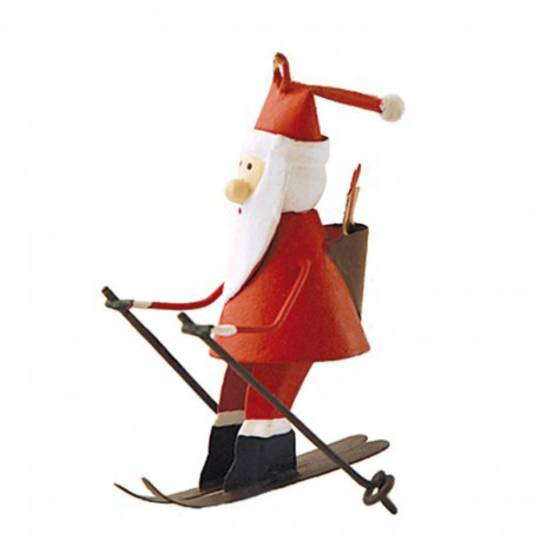 Santa on Skis