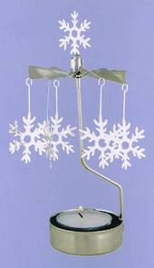 Rotary Candle Holder Snowflake SOLD OUT