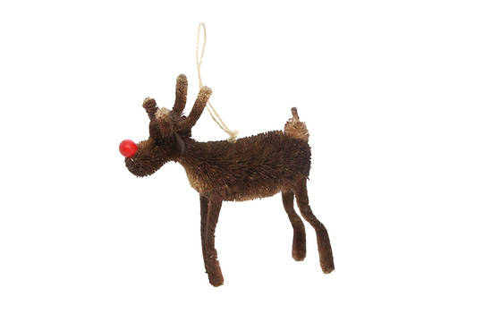 Bristle Hanging Rudolf 7cm SOLD OUT