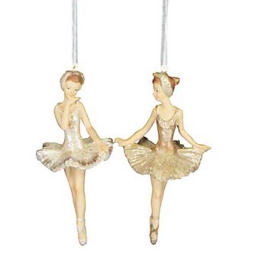 Gold Resin Ballerina 11cm