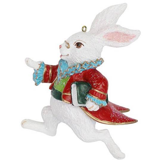 Resin White Rabbit 10cm