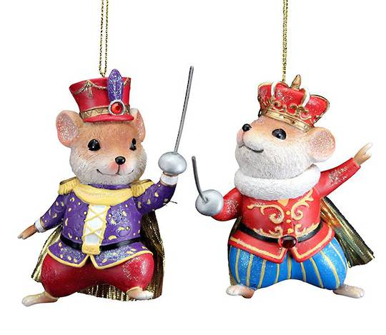 Resin King/Soldier Mouse 13cm