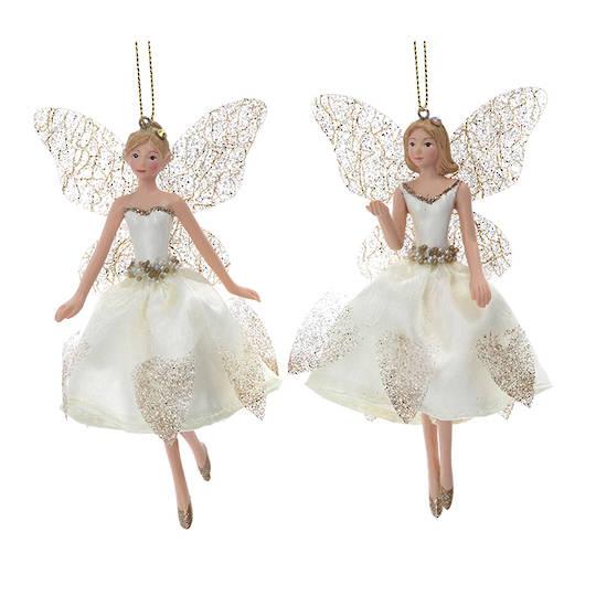 Cream Gold Peace Fairy Small 13cm
