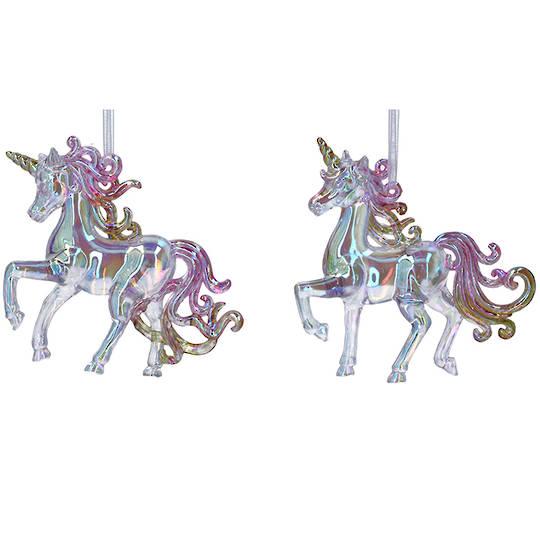 Rainbow Acrylic Unicorn 10cm