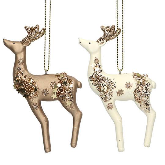 Resin Celestial Reindeer 10cm