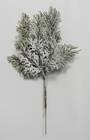Snowy Cypress Branch 30cm