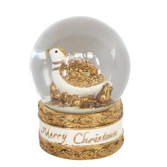 Mini Snow Globe, Partridge in Pear Tree