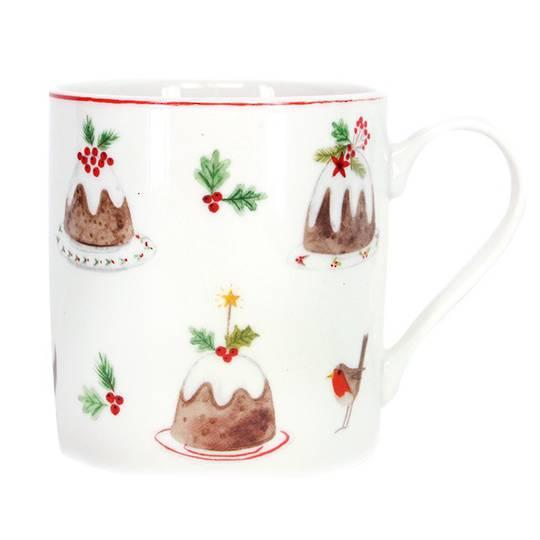 Plum Pudding Mug 350ml