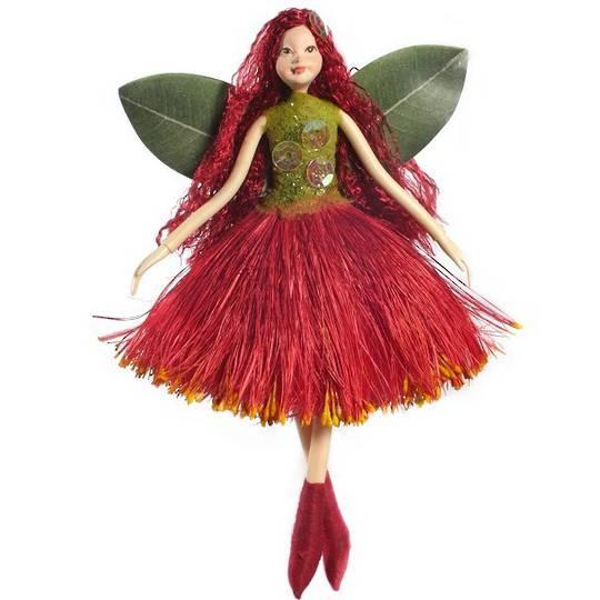 NZ Fairy, Crimson Pohutukawa 13cm