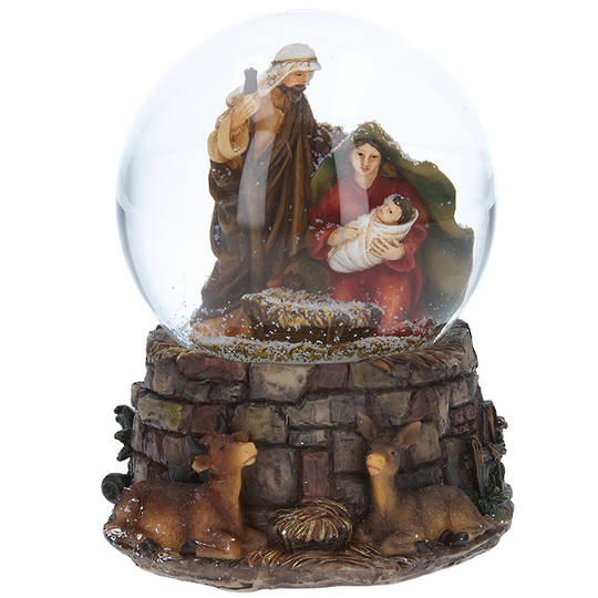 Musical SnowGlobe, Nativity Stable SOLD OUT