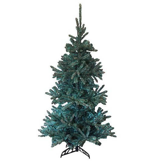 Tinsel Tree Turquoise/Copper 1.8mtr