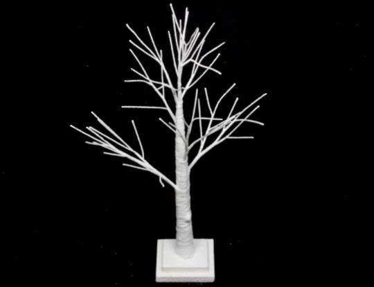 White Spiky Tree 70cm