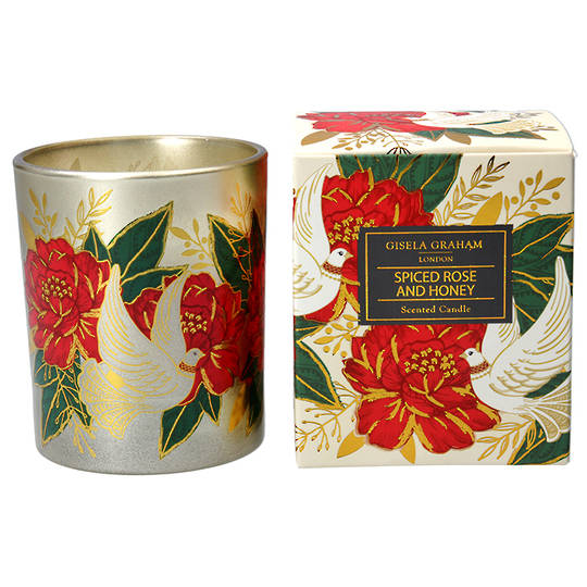 Doves & Roses, Candle Jar 10cm