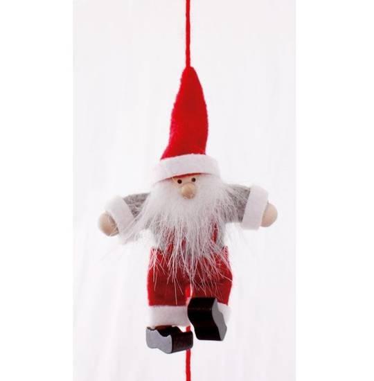 Santa in Overalls Garland 1.6mtr