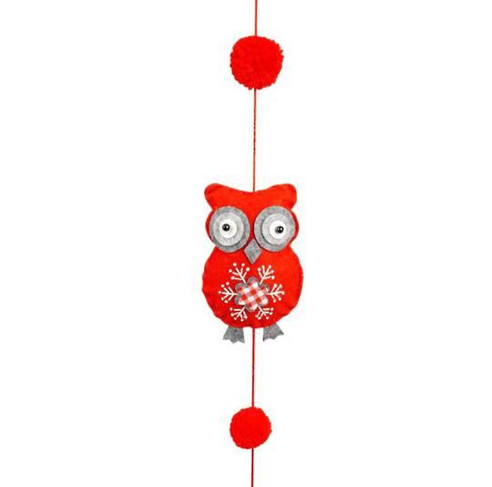 Scandi Owl Garland 1.6mtr