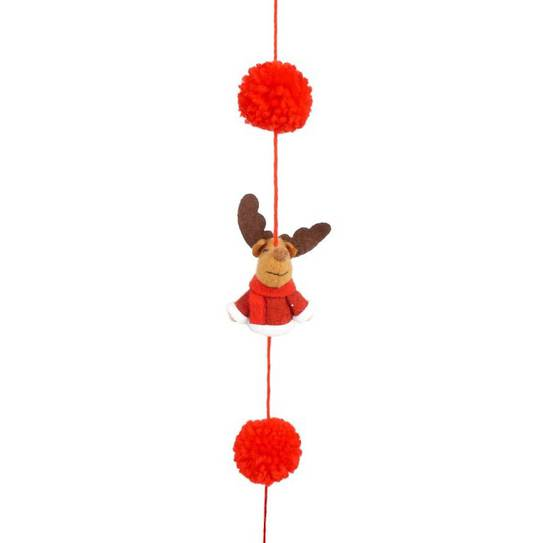 Rudi the Reindeer Garland 1.6mtr