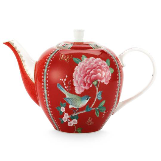 Blushing Birds TeaPot 1.6ltr