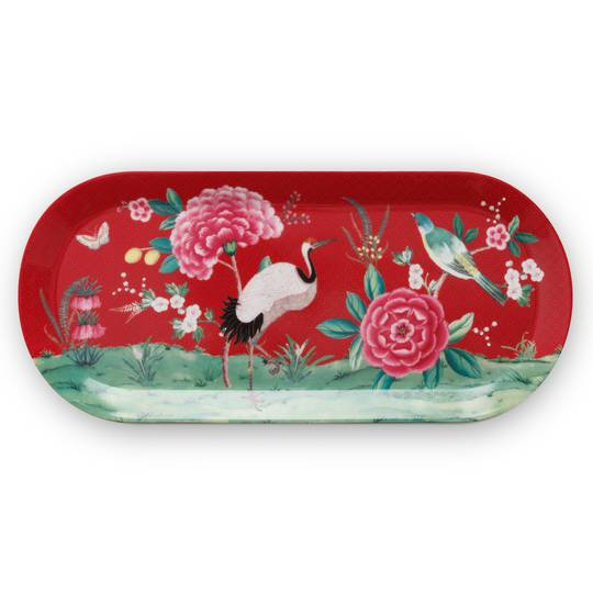 Blushing Birds Sandwich Plate 33cm