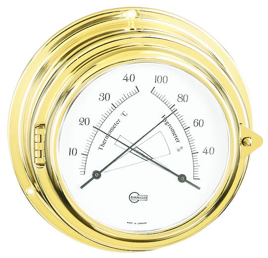 BM Marine Yacht Clock & Comfortmeter. Set 2