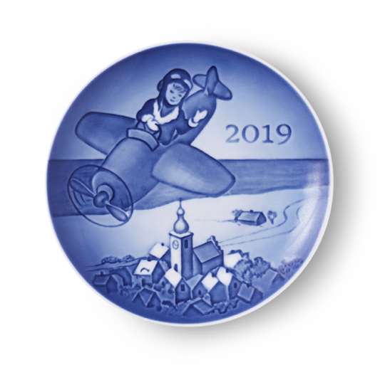 Bing & Grondahl Childs Day Plate 2019