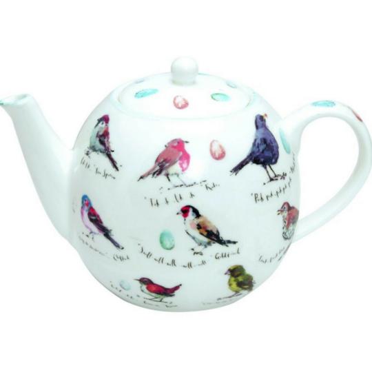 M.Floyd, Birdsong Teapot 600ml