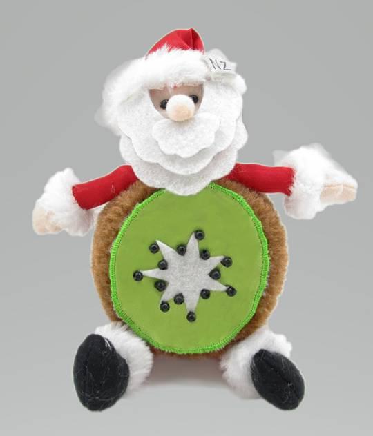 Iconic Fabric KiwiFruit Santa