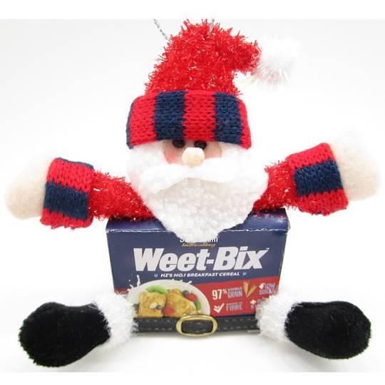 Iconic WeetBix Santa