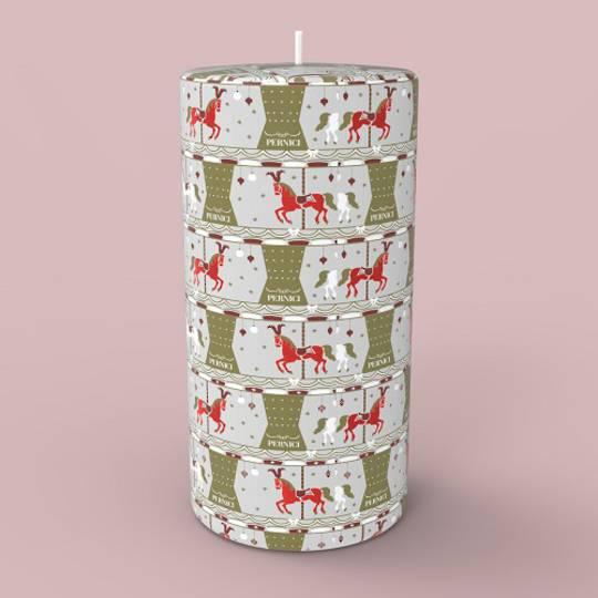 Magic Carousel Candle