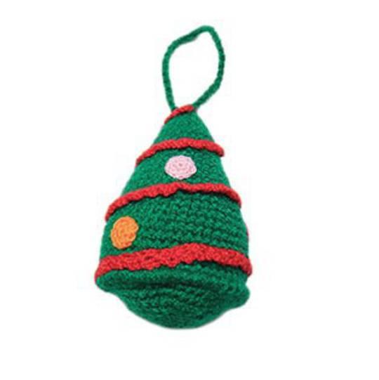 Small Crocheted Xmas Tree