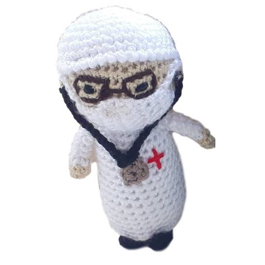 Pandemic Hero Doctor 4cm, 2020