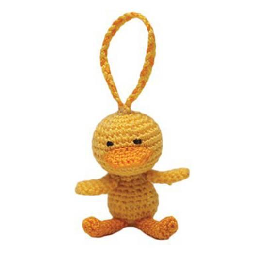Mini Crocheted Duckling