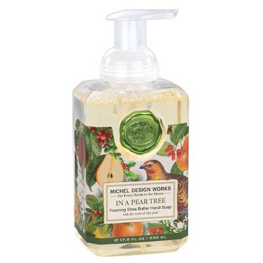 Partridge in a Pear Tree Foaming Soap