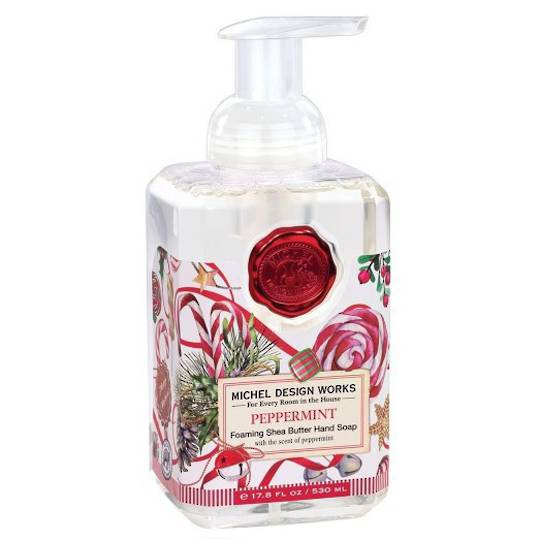 Christmas Peppermint Foaming Soap