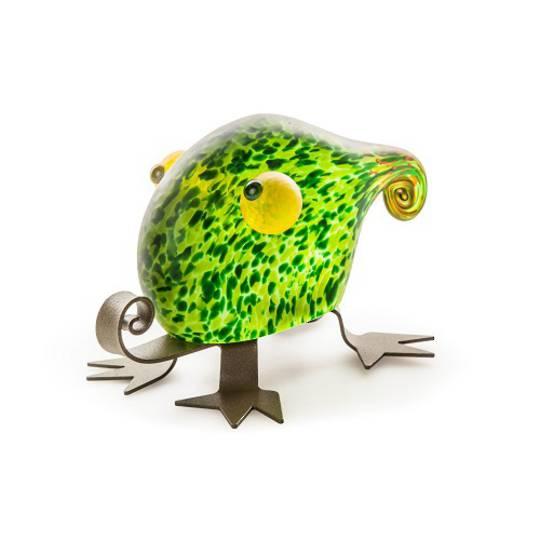 Artglass Fizzy Lizzy Object Green
