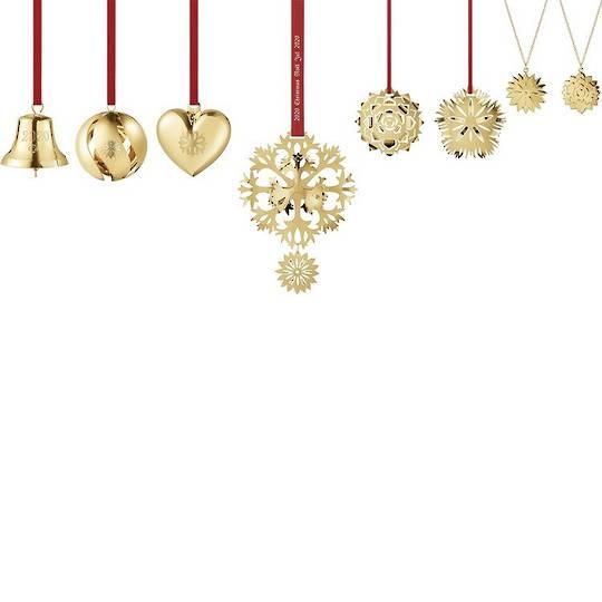 Georg Jensen Annual Ornament 2020, Complete Set of 8