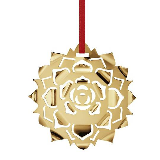 Georg Jensen Holiday Ornament 2020, Ice Rosette