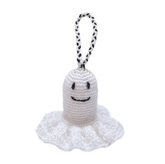 Mini Crocheted Ghost