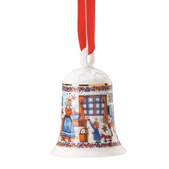 Hutschenruether Annual Porcelain Christmas Bell 2020
