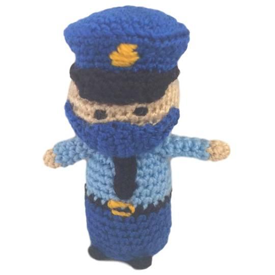 Pandemic Hero Policeman 4cm, 2020