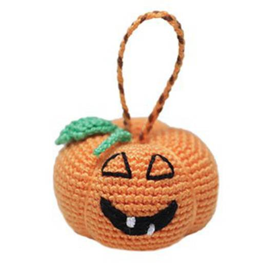 Mini Crocheted Pumpkin