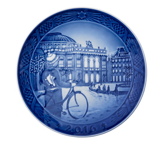Royal Copenhagen Christmas Plate, 2016