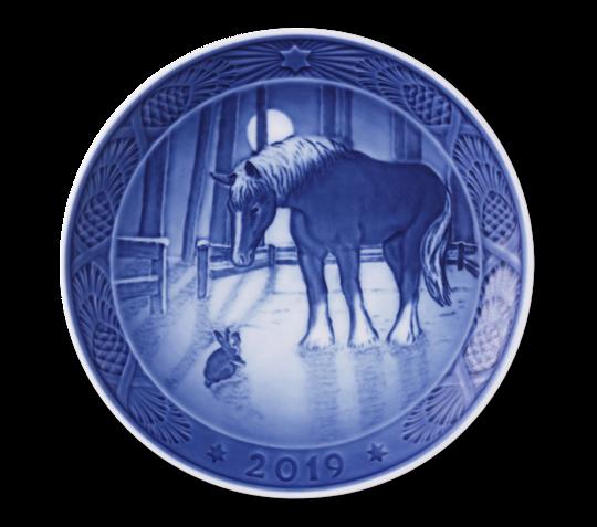 Royal Copenhagen Annual Xmas Plate 2019