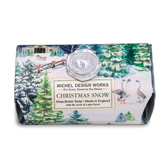 Christmas Snow Large Soap Bar