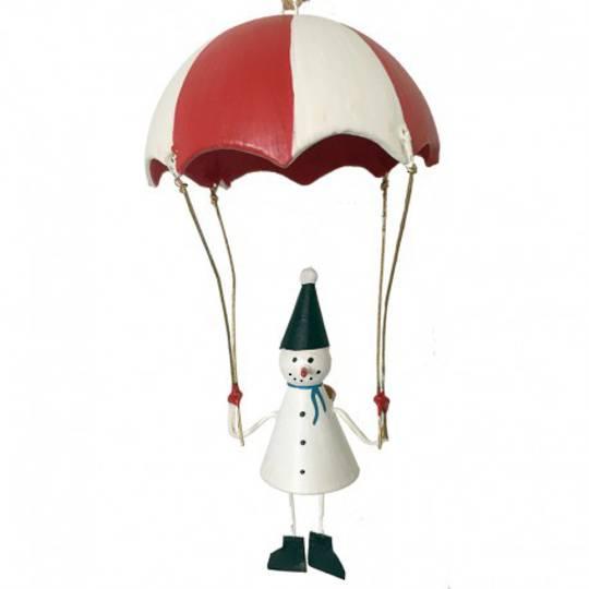 Tin Snowman Parachute