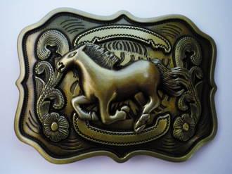 #2 Running Horse Buckle