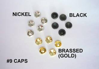No.9  CAP for Biff Rivet - 100pcs. /pack