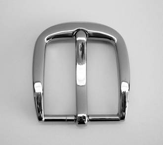 QB4430 NICKEL PLATED BUCKLE 32MM AND AB