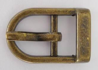JSD814 ANTIQUE BRASS BUCKLE 12mm